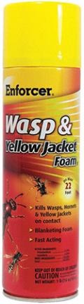 FWH16 WASP   YELLOW JACKET FOAM 16OZ
