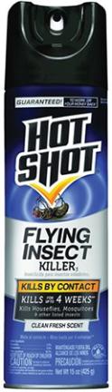 HG96310 HOT SHOT FLYING INSECT KILLER 15 OZ