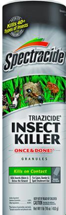 HG53941 TRIAZICD INSECT  KILLER GRANULES  1LB