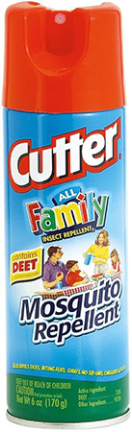 HG54055  CUTTER ALL FAMI LY  REPENT 7% DEET 6OZ
