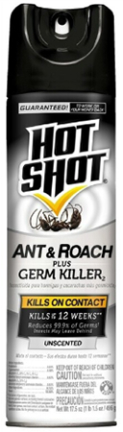 HG96780 HOT SHOT ANT  N ROACH FRSH 17.5OZ