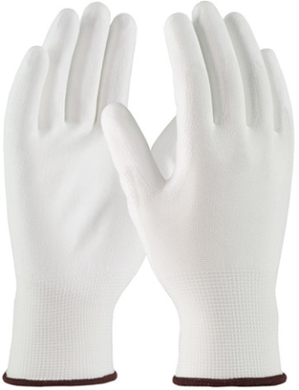 33-B115M GLOVE POLYESTER COATED GRIP PALM MD