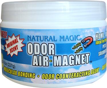 4158 ODOR-AIR MAGNET 14 OZ GEL/CHARCOAL