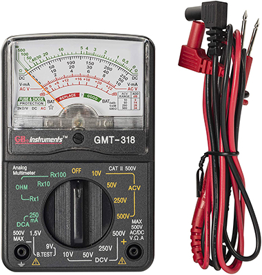 GMT-318 14-RANGE ANALOG METER