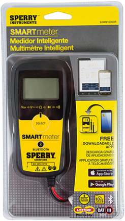 SDMM1000R SMART METER DIGITAL YELLOW