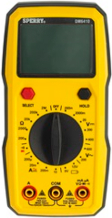 DM6410 DIGITAL MULTIMETR 8 FUNCTION MANUAL