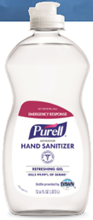 9747-12-S HAND SANITIZER 12.6 oz NOT FOR RESALE