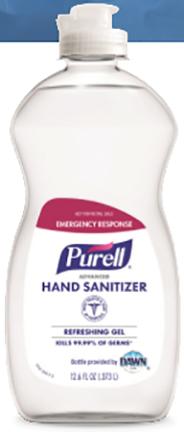 9747-12-s Hand Sanitizer 12.6 Oz Not For Resale