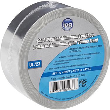 9502-B FOIL TAPE 1.75 MIL AL COLD WEATHER