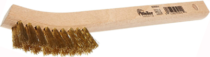 95014 HAND WIRE SCRATCH BRUSH SMALL BRASS FILL