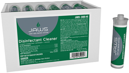 3805 JAWS DISINFECTANT CLEANER 24/CS